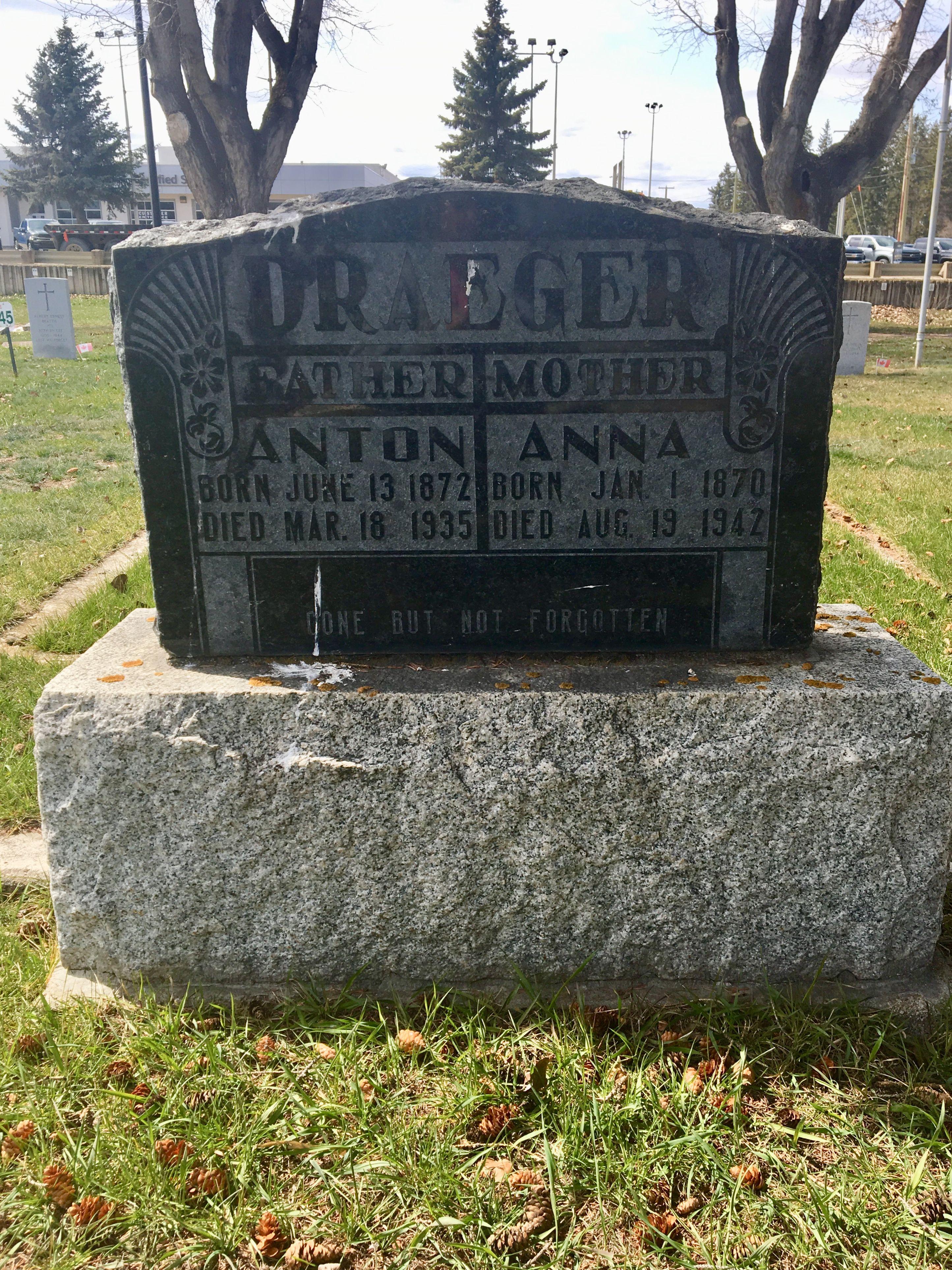 Anton Draeger (1872-1935) - Find A Grave Memorial