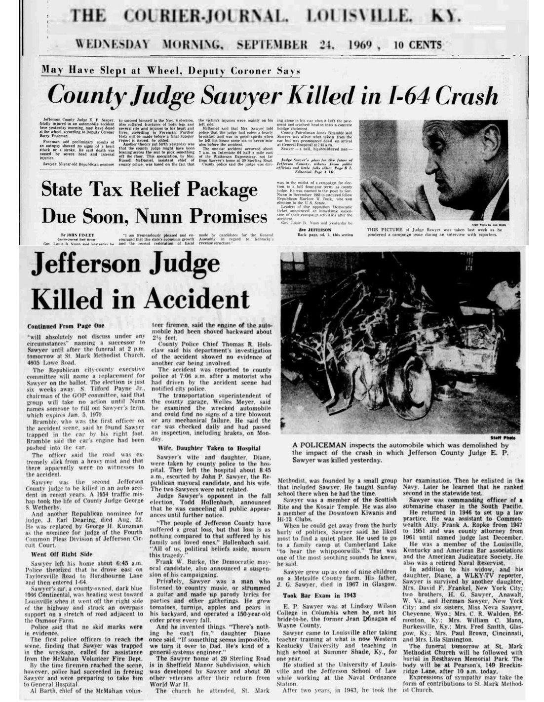 "Judge Erbon Powers ""Tom"" Sawyer (1915-1969) - Find A Grave"