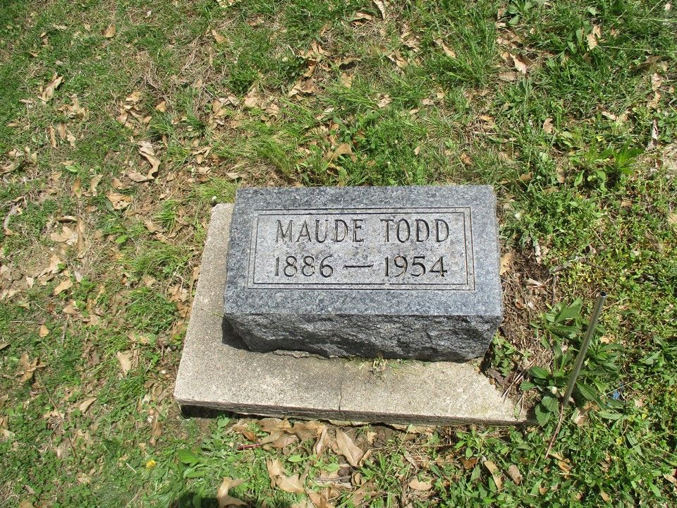 Lillie Maude Rodgers Todd 1886 1954 Find A Grave Memorial