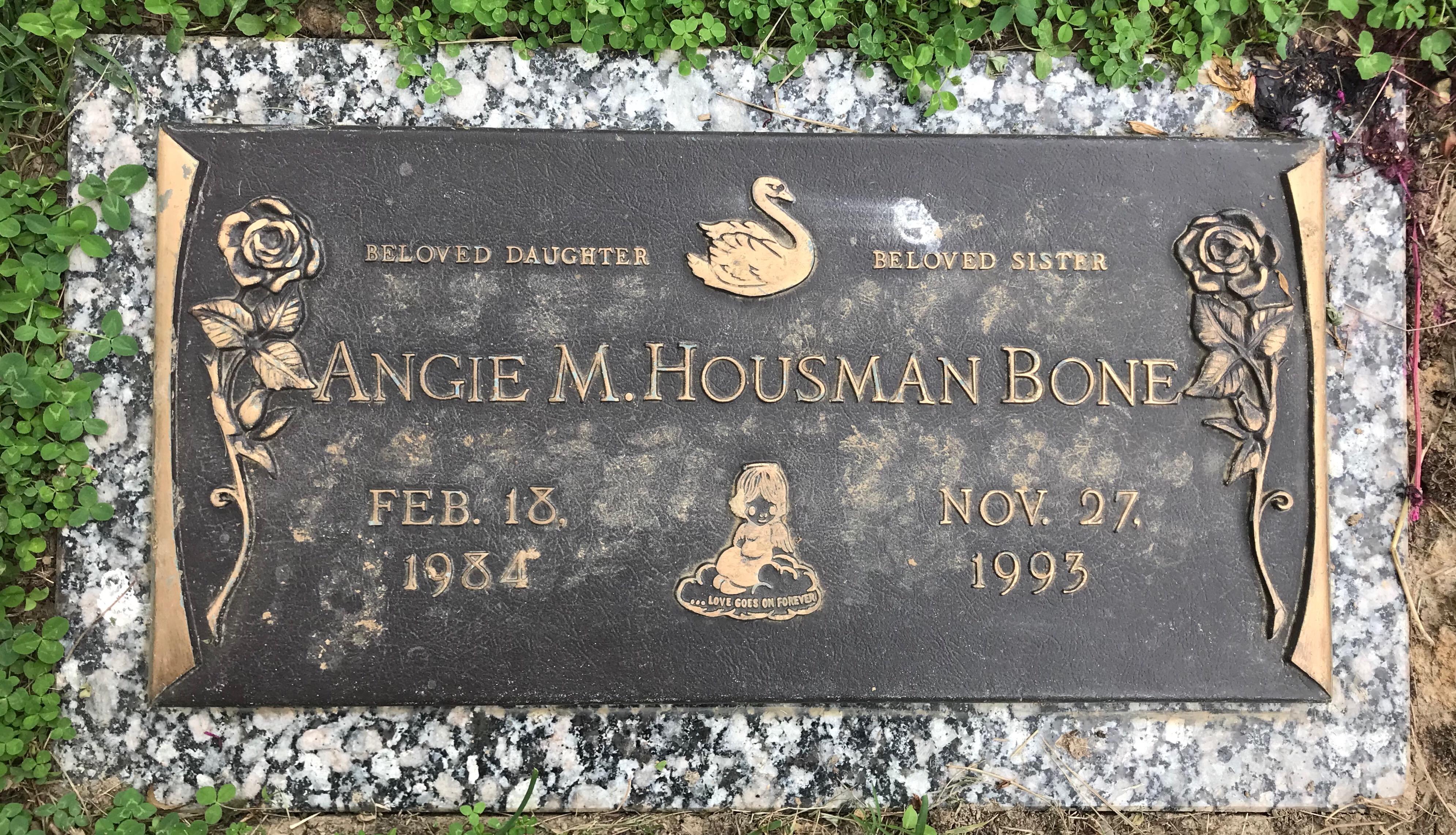"""Angie Marie """"Angie Housman"""" Housman Bone (1984-1993) - Find"""