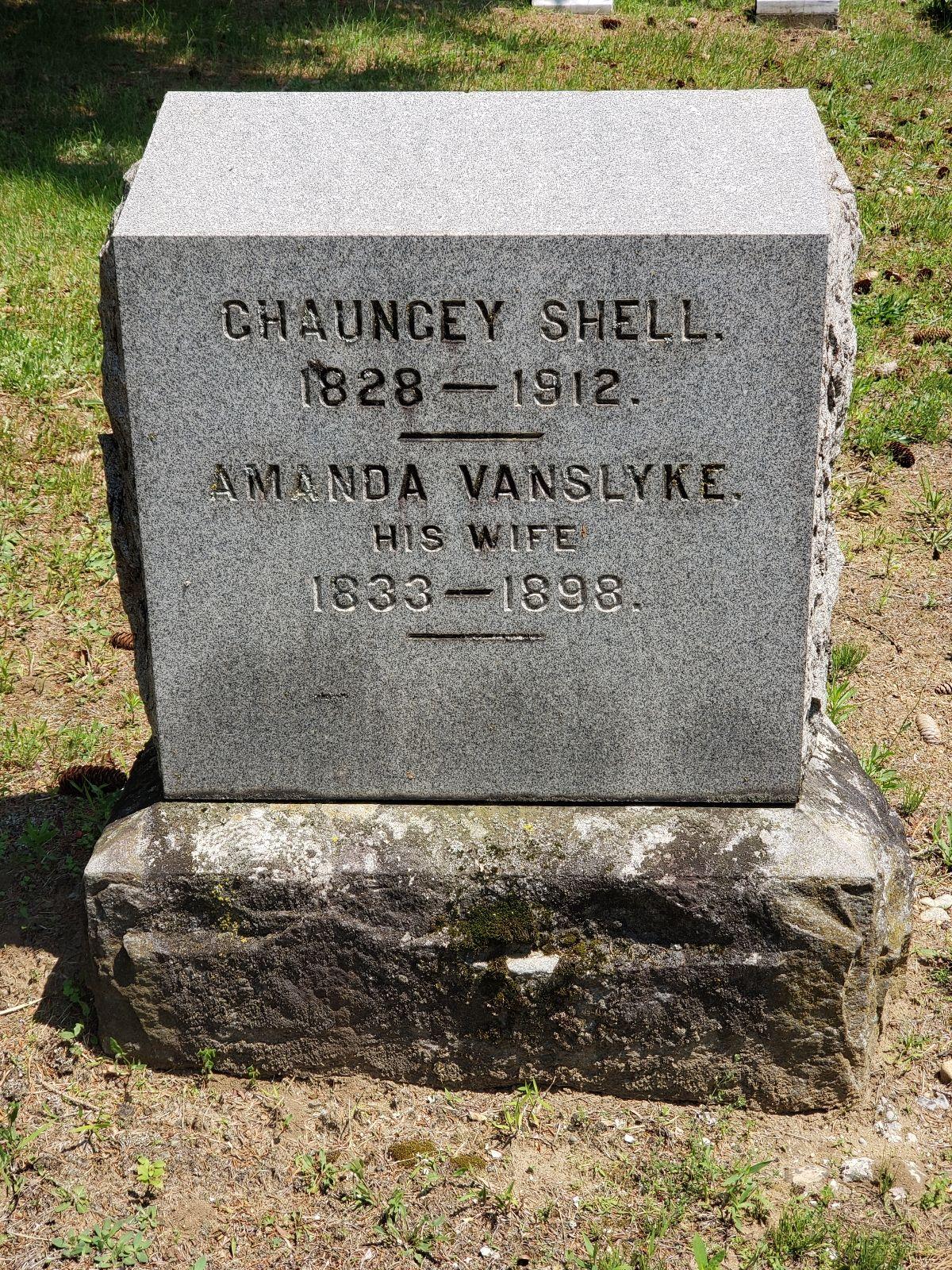 Amanda Shell amanda van slyke shell (1833-1898) - find a grave memorial