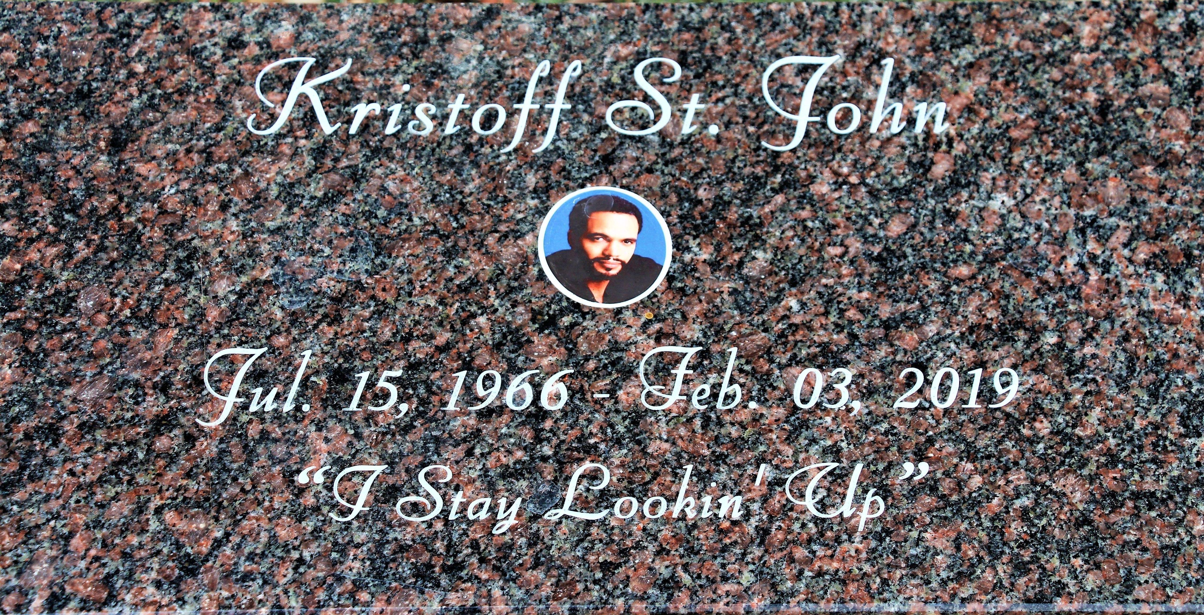 Kristoff St  John (1966-2019) - Find A Grave Memorial