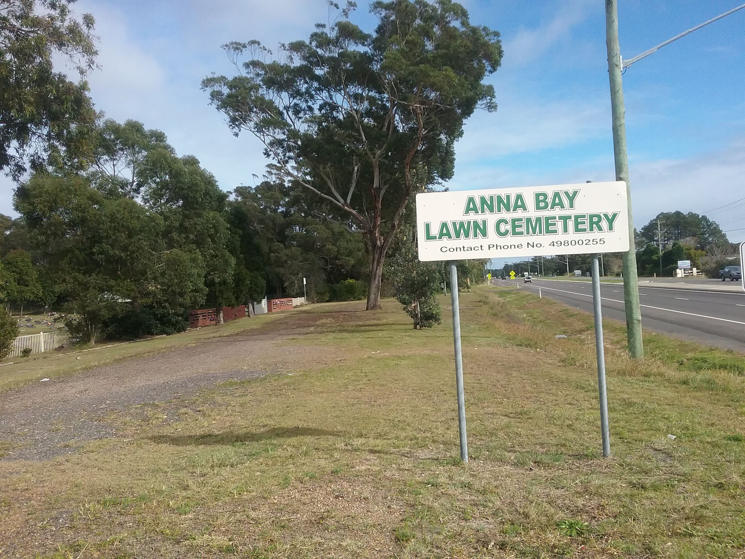 Anna Bay Lawn Cemetery in Anna Bay, New South Wales - Find A