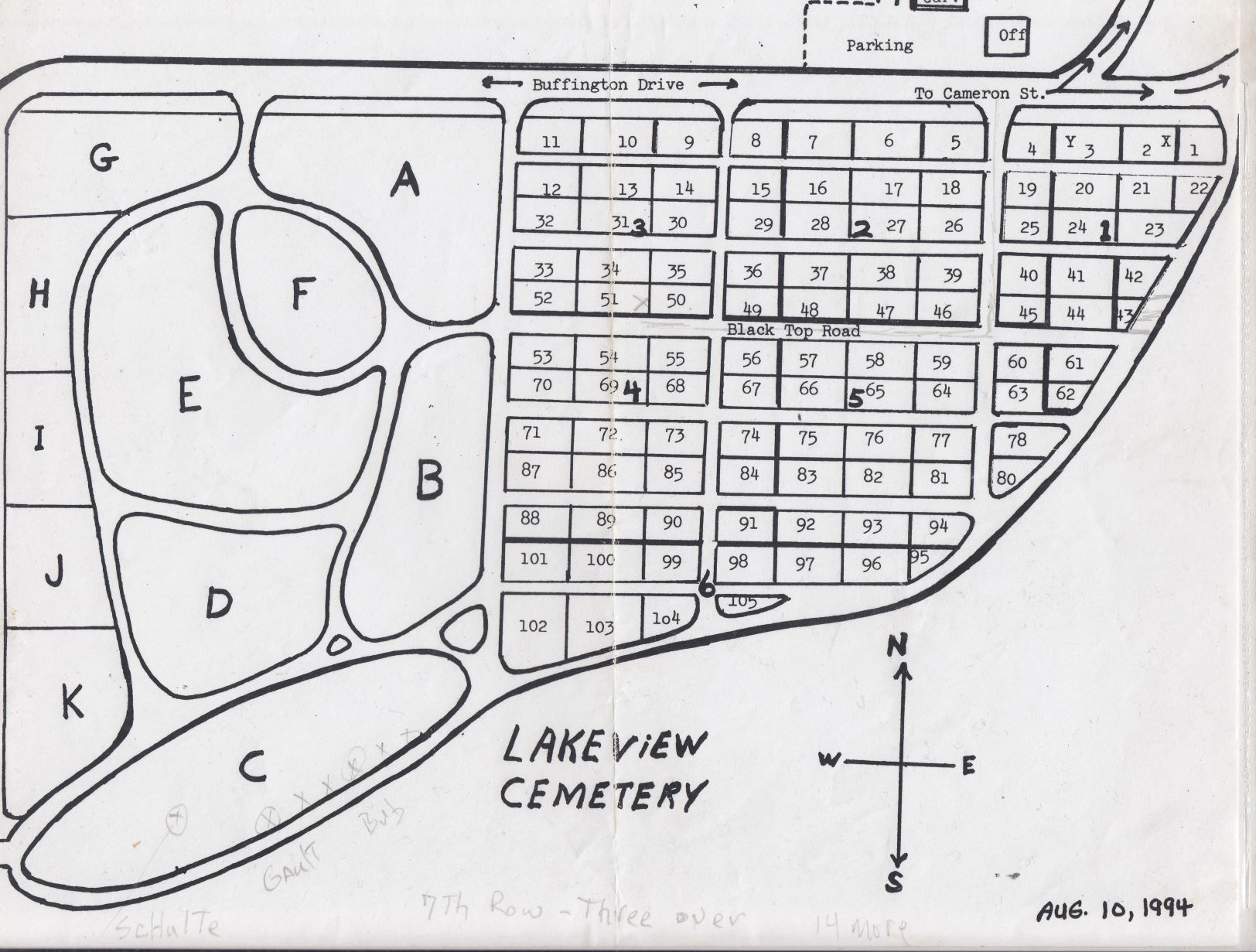lake view cemetery map Lakeview Cemetery In Eau Claire Wisconsin Find A Grave Cemetery lake view cemetery map