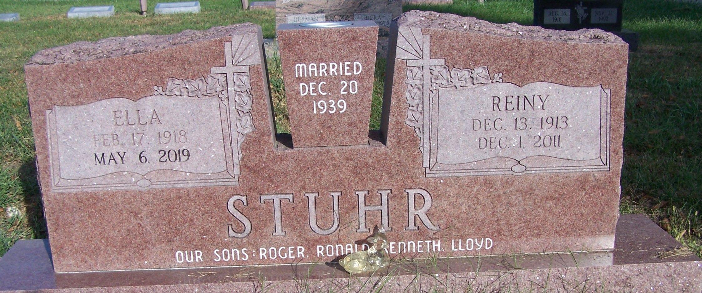 Ella Sophia Anna Wellman Stuhr 1918 2019 Find A Grave Memorial Images, Photos, Reviews