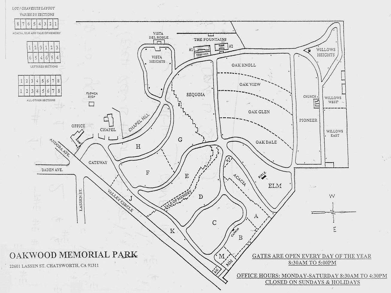 Oakwood Memorial Park in Chatsworth, California - Find A ... on