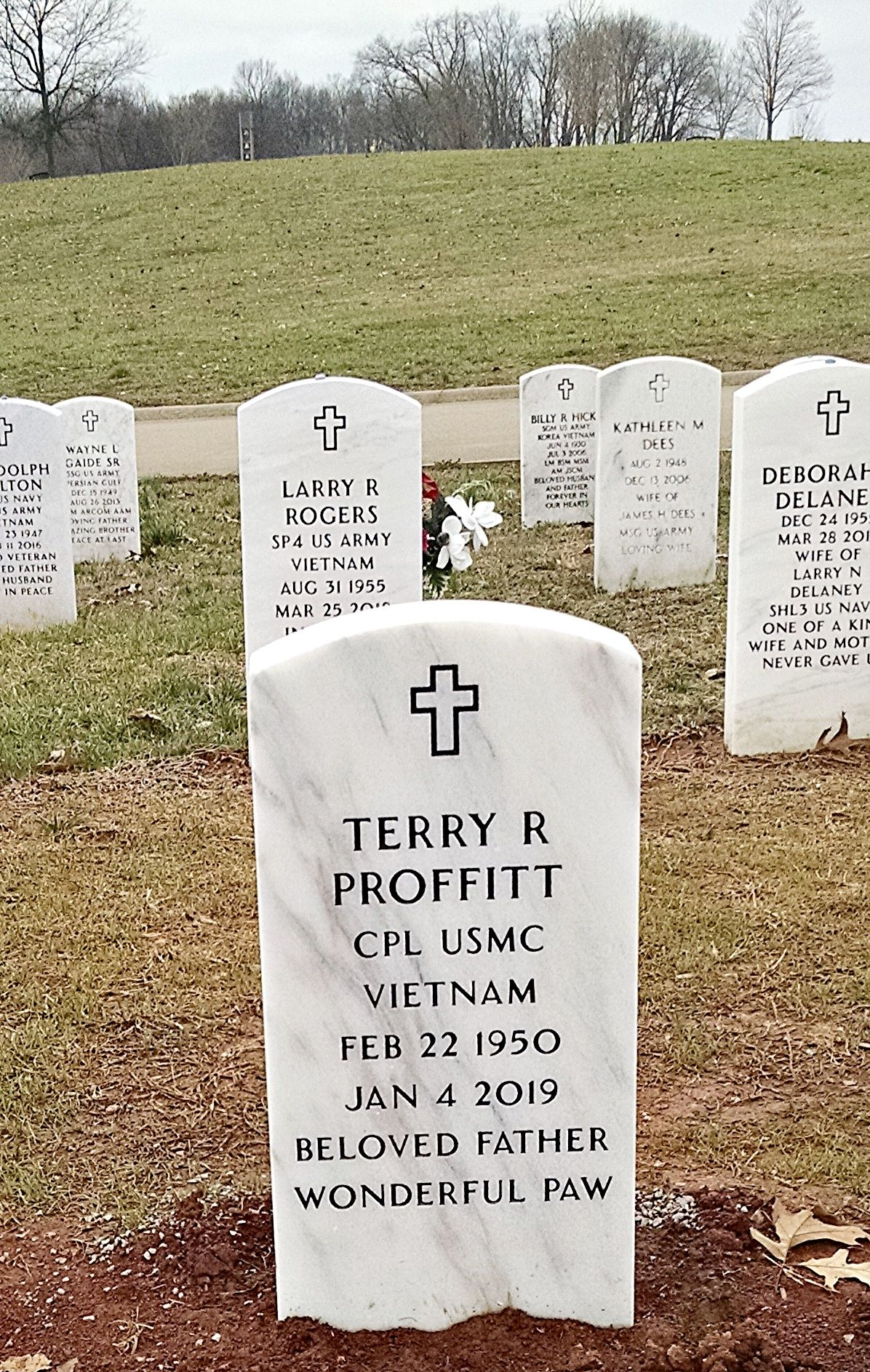 Terry Ray Proffitt 1950 2018 Find A Grave Memorial