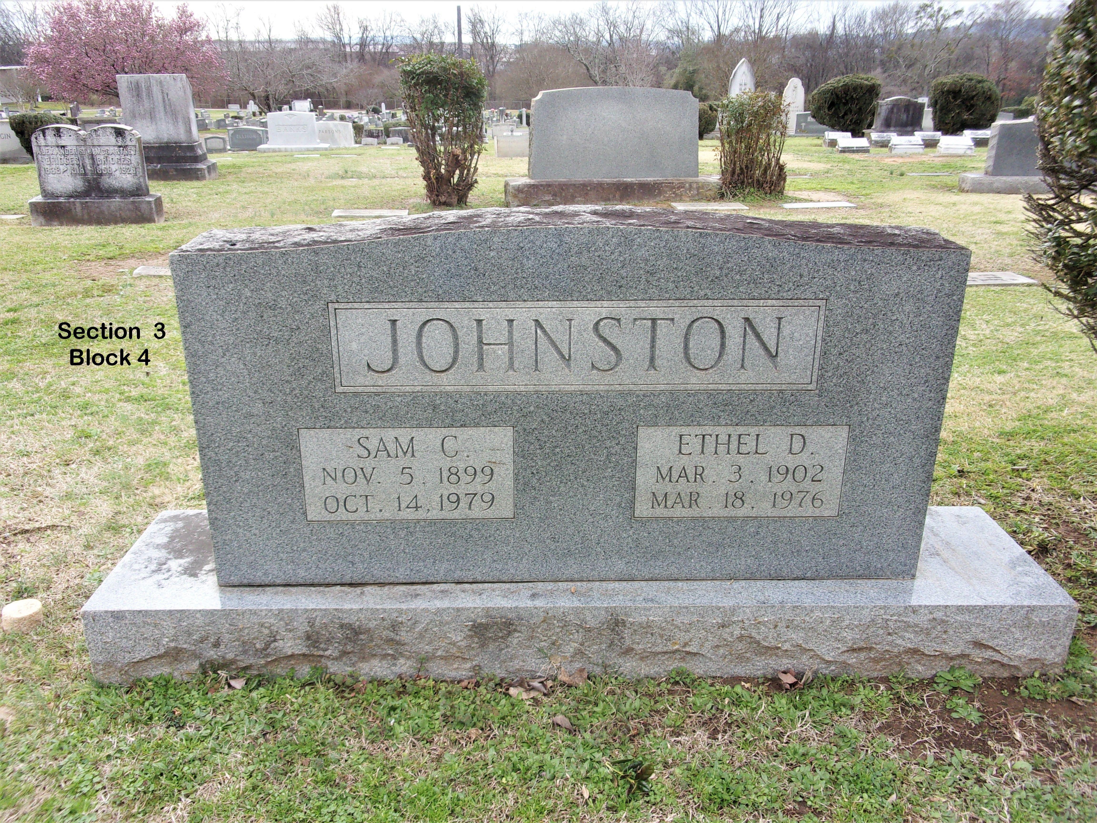 Ethel Penny Johnston (1902-1976) - Find A Grave Memorial