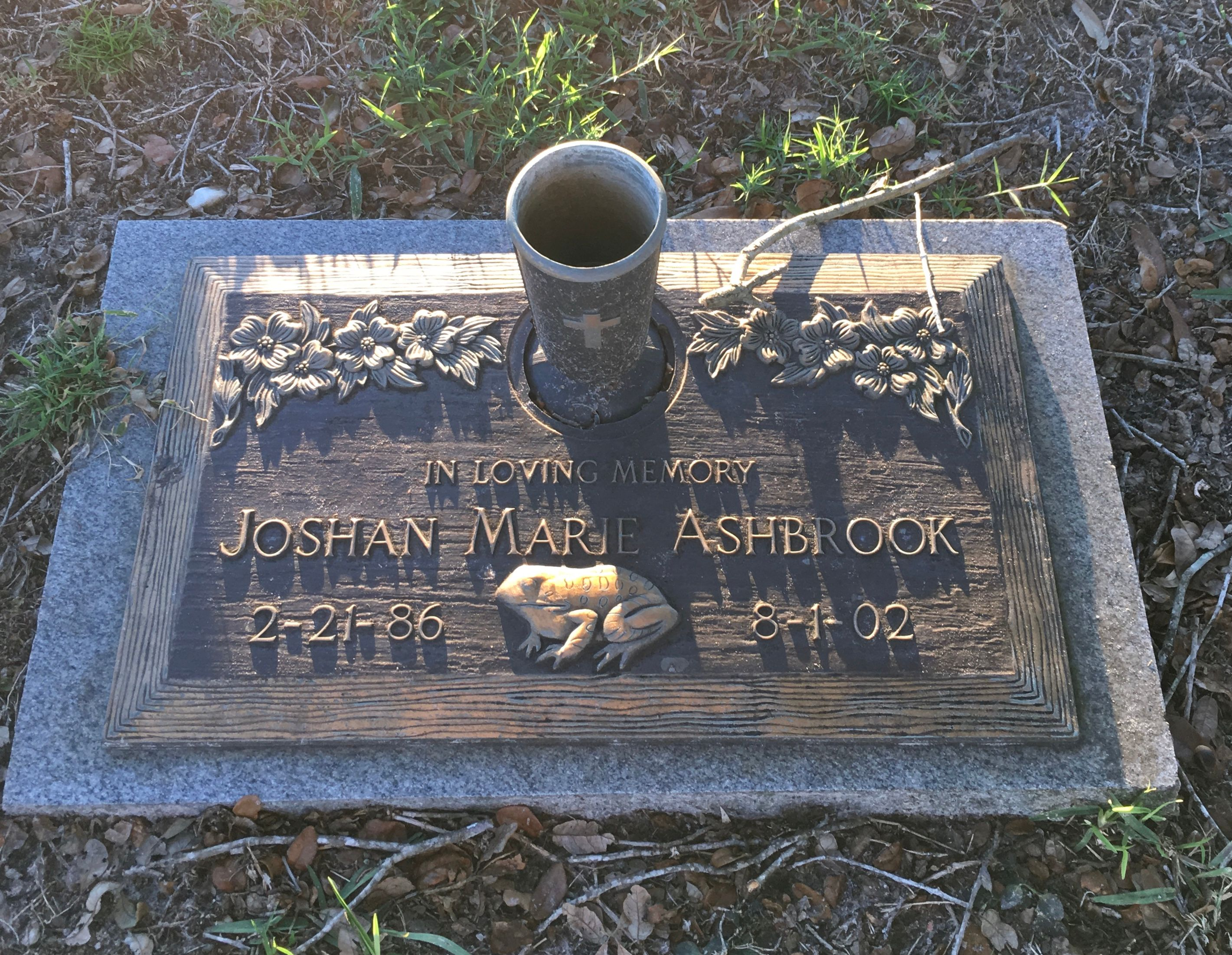 Joshan Marie Ashbrook (1986-2002) - Find A Grave Memorial