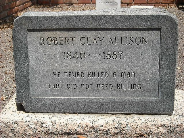 Robert Clay Allison (1840-1887) - Find A Grave Memorial