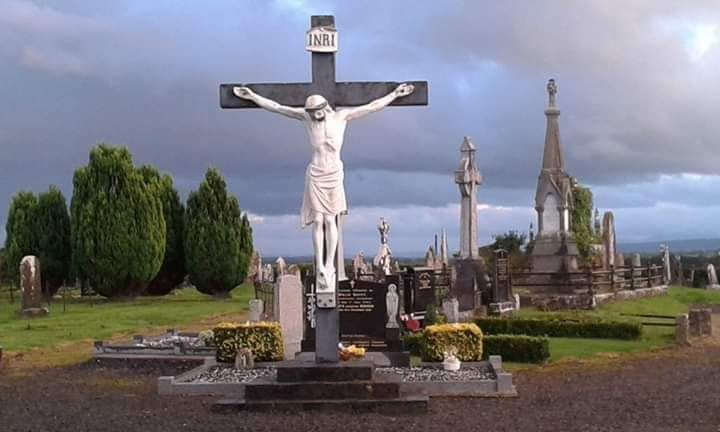 Corbally Christ Church Cemetery in Knock, County Tipperary