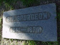 Benjamin Forman Spurgeon