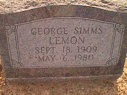 George Simms Lemon Sr.