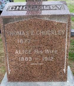 Alice Anne <I>Smith</I> Chockley