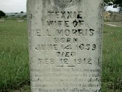 """Texanna E. """"Texxie"""" <I>Yates</I> Morris"""