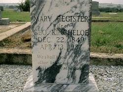 Mary K. Polly <I>Register</I> Kincheloe