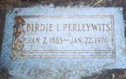 Birdie Inez <I>Gillett</I> Perleywits