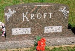 """Gretchen Augusta """"Grace"""" <I>Tetzloff</I> Kroft"""