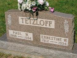 Paul William Carl Tetzloff