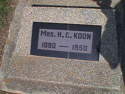 May <I>Stockton</I> Koon