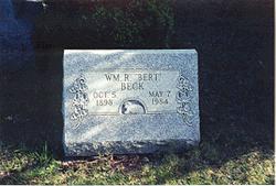 "William Robert ""Bert"" Beck"