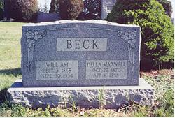 Ethel Dell <I>Maxwell</I> Beck