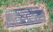 Harry Pruden Cooper