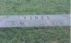 Permelia <I>Russell</I> Vines