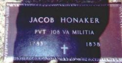 Pvt Jacob Honaker
