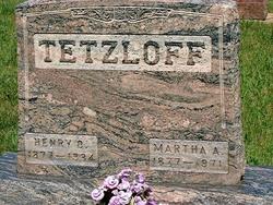 Martha A <I>Teske</I> Tetzloff