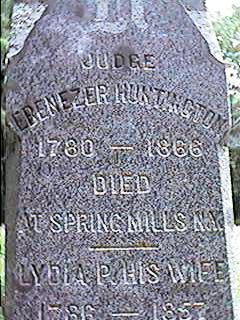 Judge Ebenezer Huntington