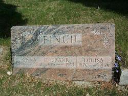 Louisa <I>Malik</I> Finch