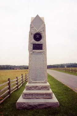 105th Pennsylvania Infantry Monument