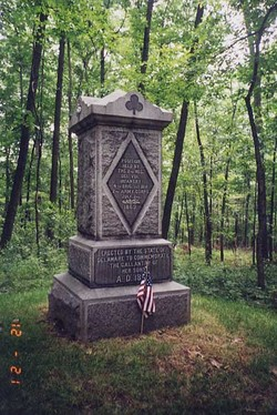 2nd Delaware Infantry Monument