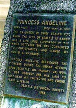 "Kikisoblu ""Princess Angeline"" Sealth"
