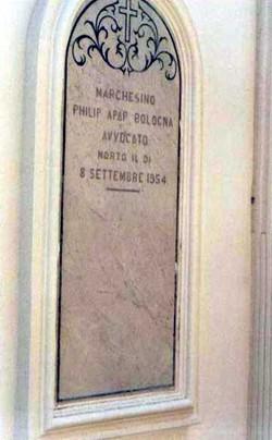 """Filippo Antonio """"Marchesina della Gnien"""" Apap-Bologna"""