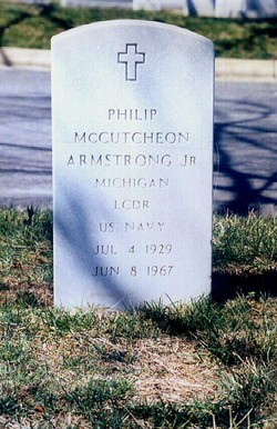"LCDR Philip McCutcheon ""Phil"" Armstrong, Jr"