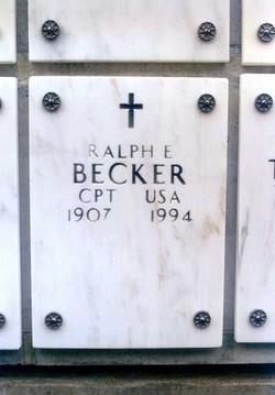 Ralph Elihu Becker