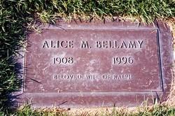 Alice <I>Murphy</I> Bellamy