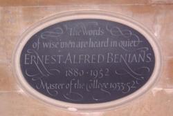 Ernest Alfred Benians