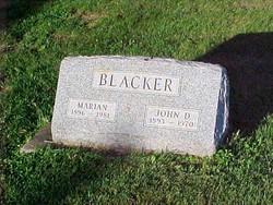 John D. Blacker