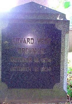 """Edward West """"Daddy"""" Browning"""