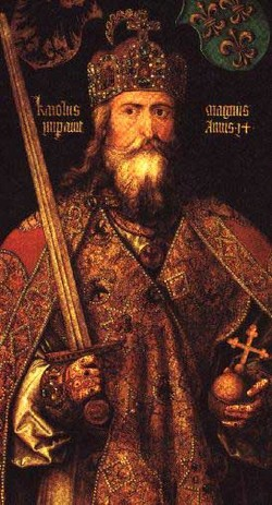 "Emperor ""Charles the Great"" Charlemagne"