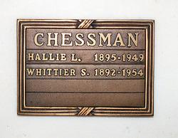 Whittier Serl Chessman