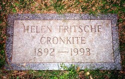 Helen Lena <I>Fritsche</I> Cronkite
