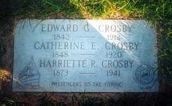Catherine Elizabeth <I>Halstead</I> Crosby