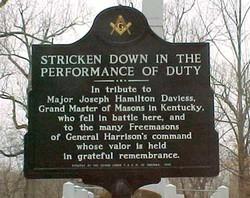 Maj Joseph Hamilton Daviess