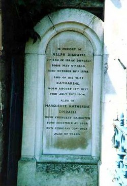 Marguerite Katherine Disraeli