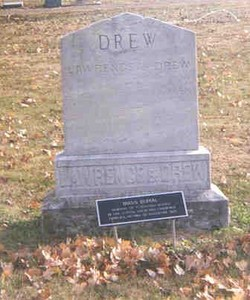Drew and Lawrence Family mass burial site