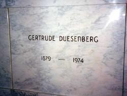 Gertrude <I>Pike</I> Duesenberg